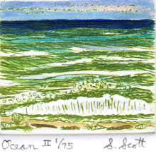 Ocean – Hand Colored