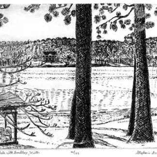 Georgia Landscapes -Etchings