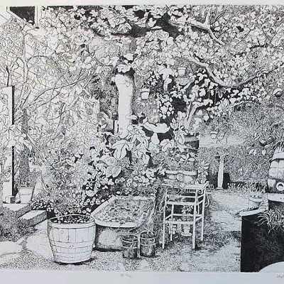 Old Spaghetti Factory - Etching by Stephanie Scott @ First Edition 1970, Second Edition 2013