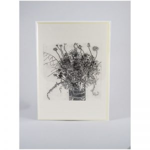 Gerogia Swamp Flowers - Etching