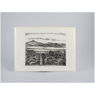 San Francsico - Etching Notecards