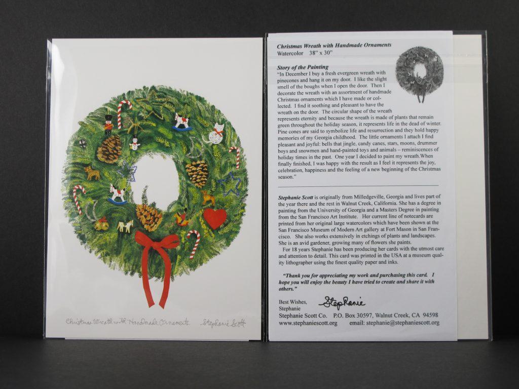 Christmas Wreath w Insert
