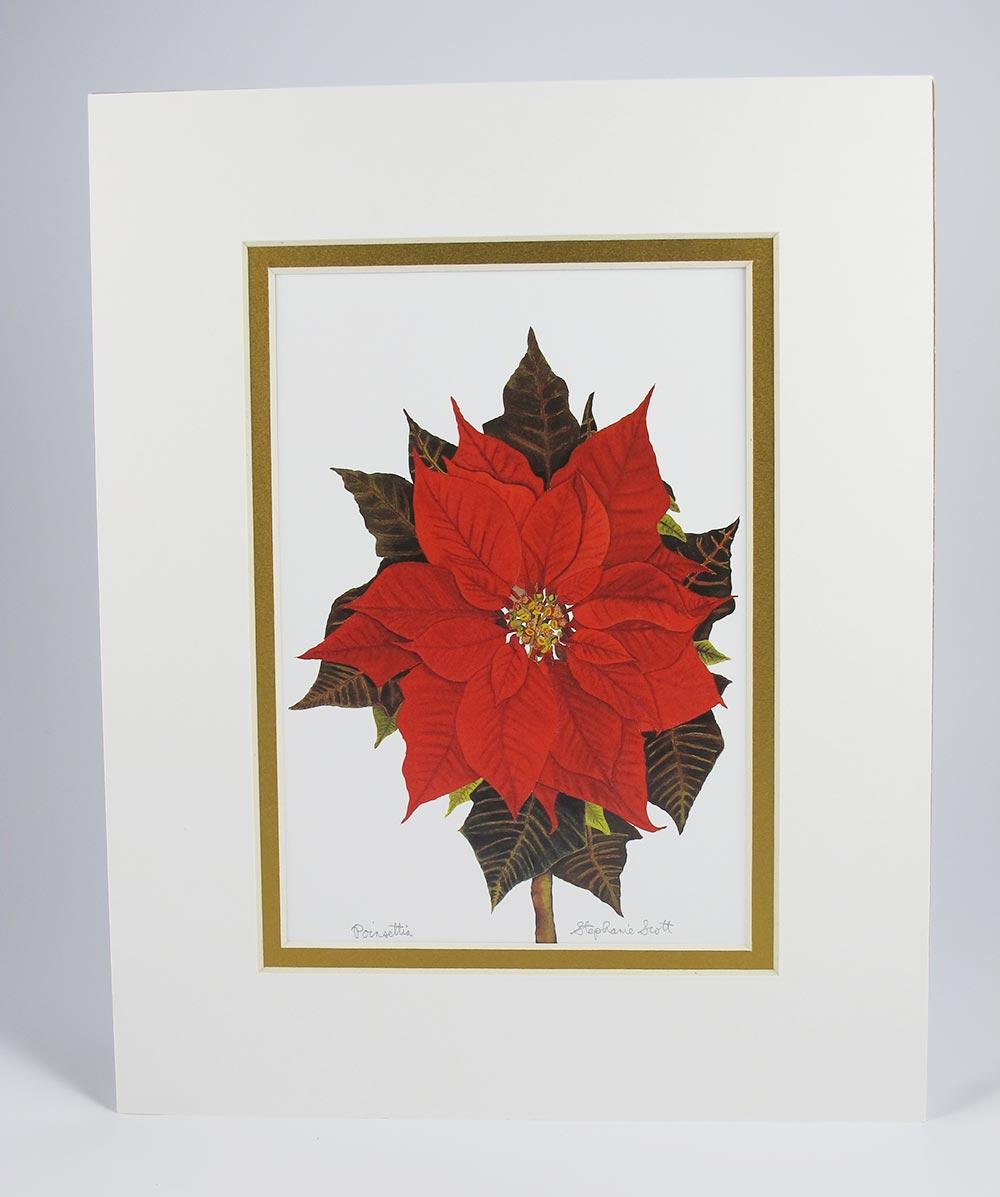 Poinsettia-Mat-Gold
