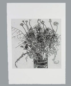 Etching—Georgia-Swamp-Flowers