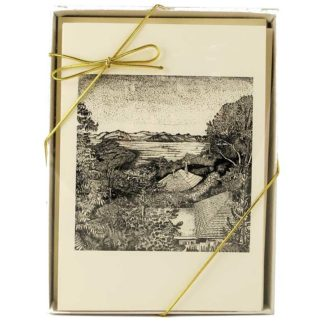 Gift Box, Etchings Notecards