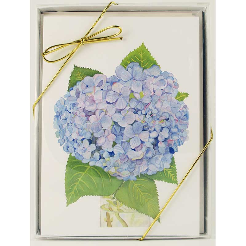 flower notecard gift box