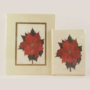 Poinsettia-Print-Card-Pack